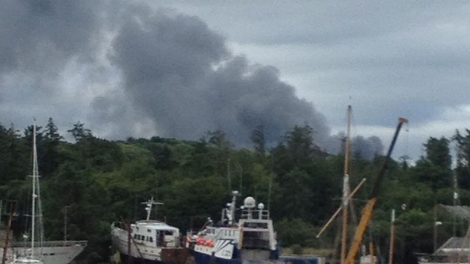 Five Units Of The County Fire Service Have Responded To A Fire At A