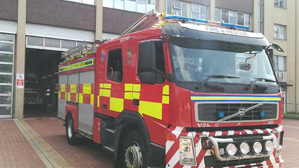 Fire Service Deal With Fire At A Barbers Shop In Blackpool