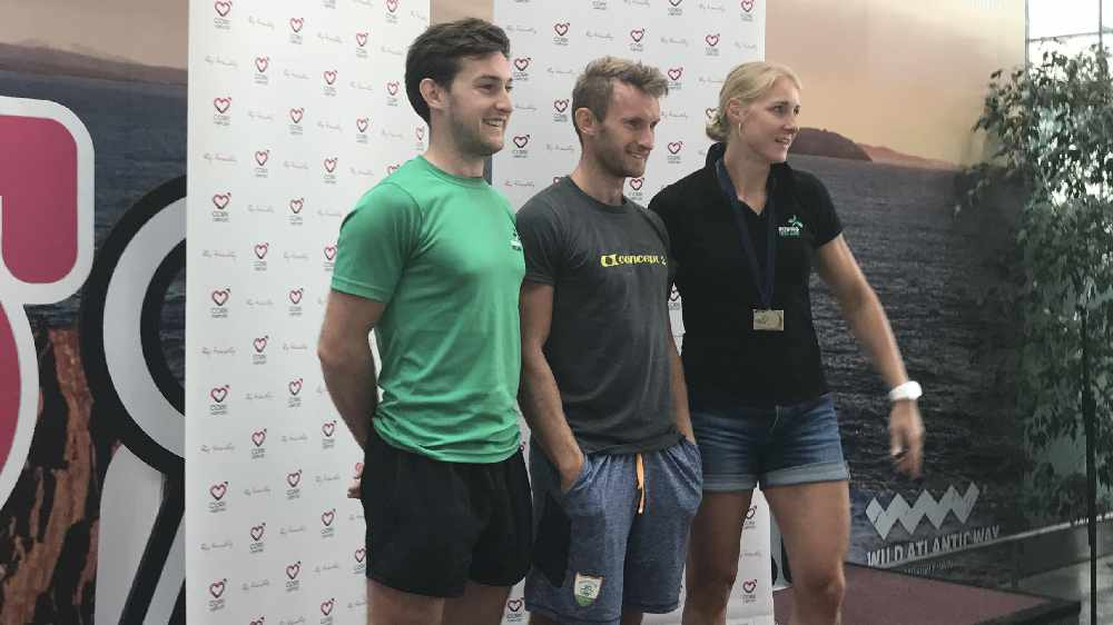 Heroes Welcome For Irish Rowing Team At Cork Airport