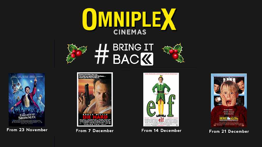 At The Flix: #BringItBack For Christmas - The Greatest Showman, Die Hard, Elf & Home Alone