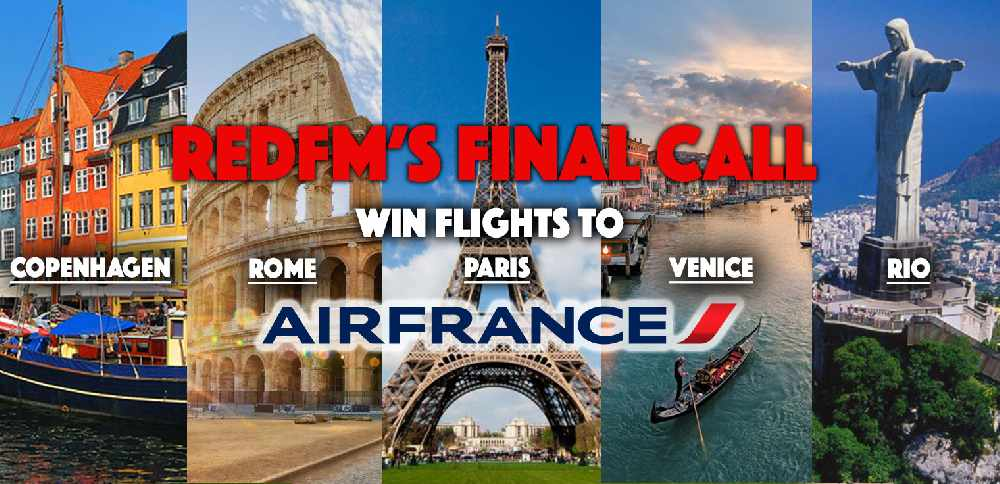Win Flights on RedFM's Final Call