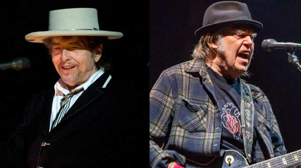 Bob Dylan And Neil Young Announce Irish Gig