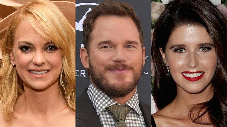 Anna Faris Responds To Chris Pratt's Engagement to Katherine Schwarzenegger