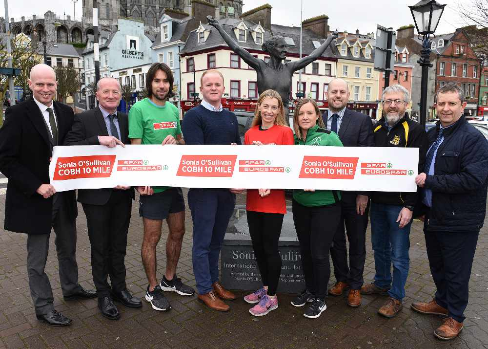 Sonia O'Sullivan Cobh 10 Mile Road Race launches