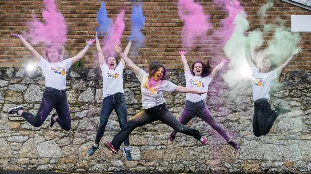 The Irish Cancer Society Colour Dash Has Been Launched