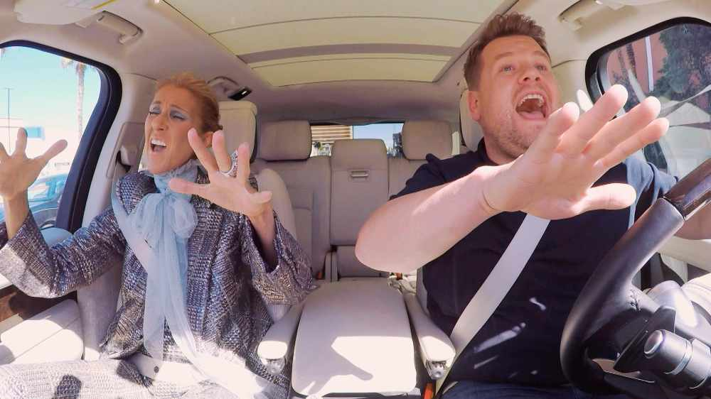WATCH: Celine Dion's Carpool Karaoke Is One Of The Funniest Ever!