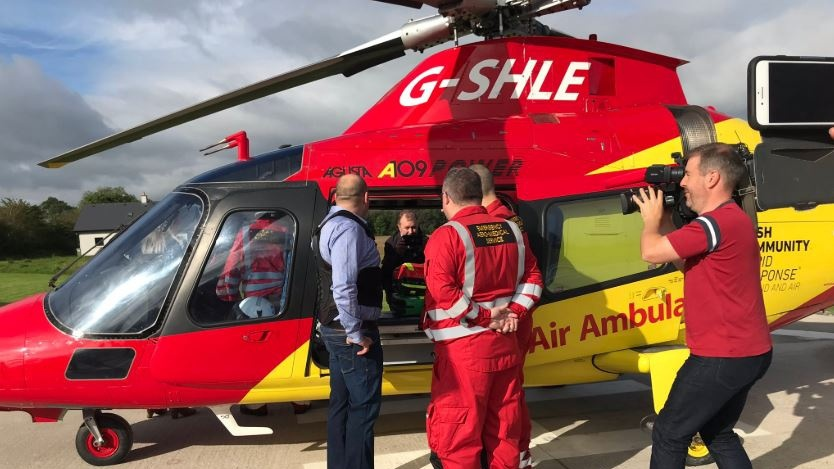 Community Air Ambulance to be grounded next Friday