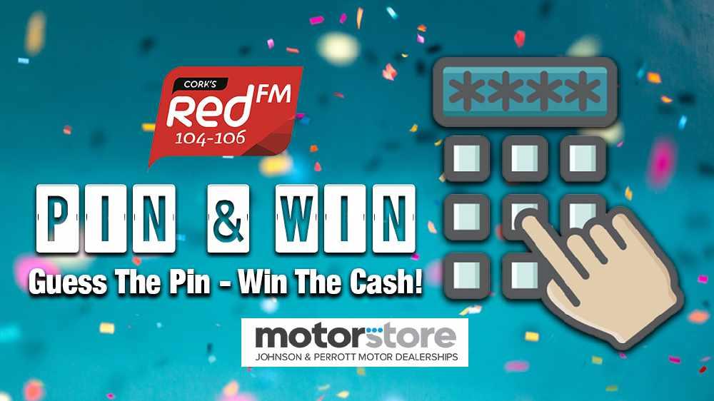 Win Cash In RedFM's Pin & Win!