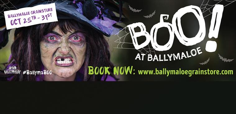 Boo! At Ballymaloe