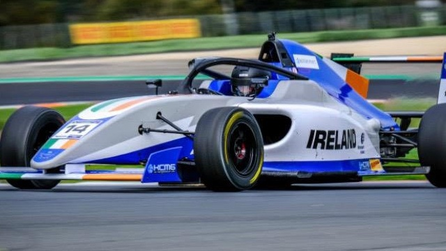 Cork's Lucca Allen represents Ireland at FIA Motorsport Games