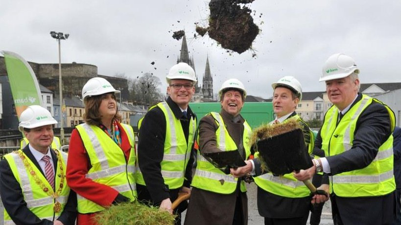 Taoiseach Admits Events Centre Sod Turning Was A Mistake