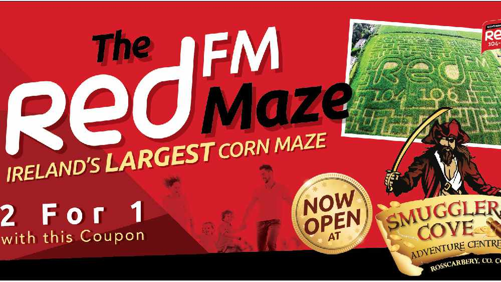 2 For 1 Coupon For RedFM Maze at Smuggler's Cove