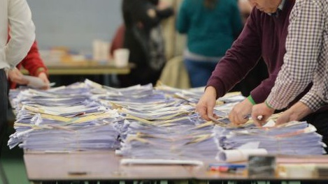 The North Cork Local Election Count Is Underway At Mallow Youth Centre This Evening