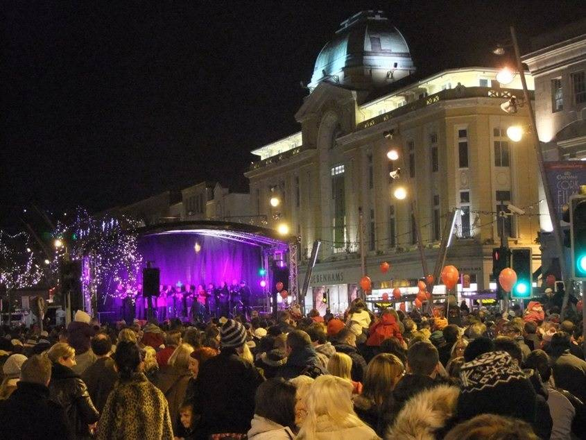 The Countdown To Christmas Is On With The Switching On Of The Cork City Christmas Lights This Evening