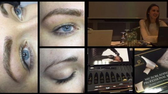 Pics: We try out the very latest semi permanent brow technology