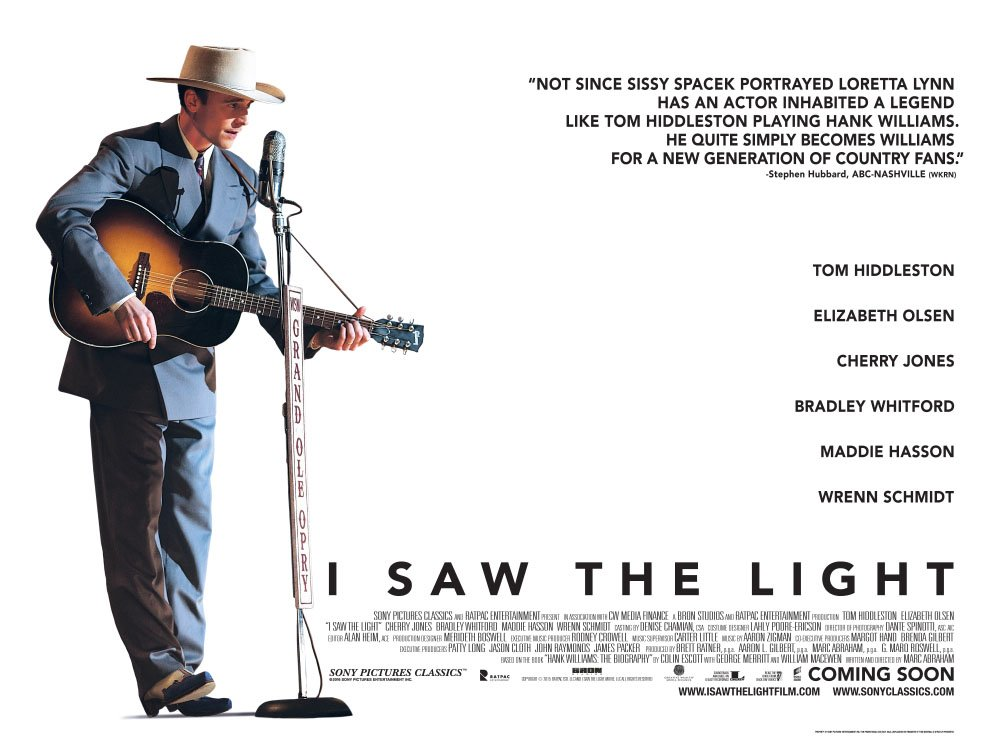Win I Saw The Light book and poster - Chris Country