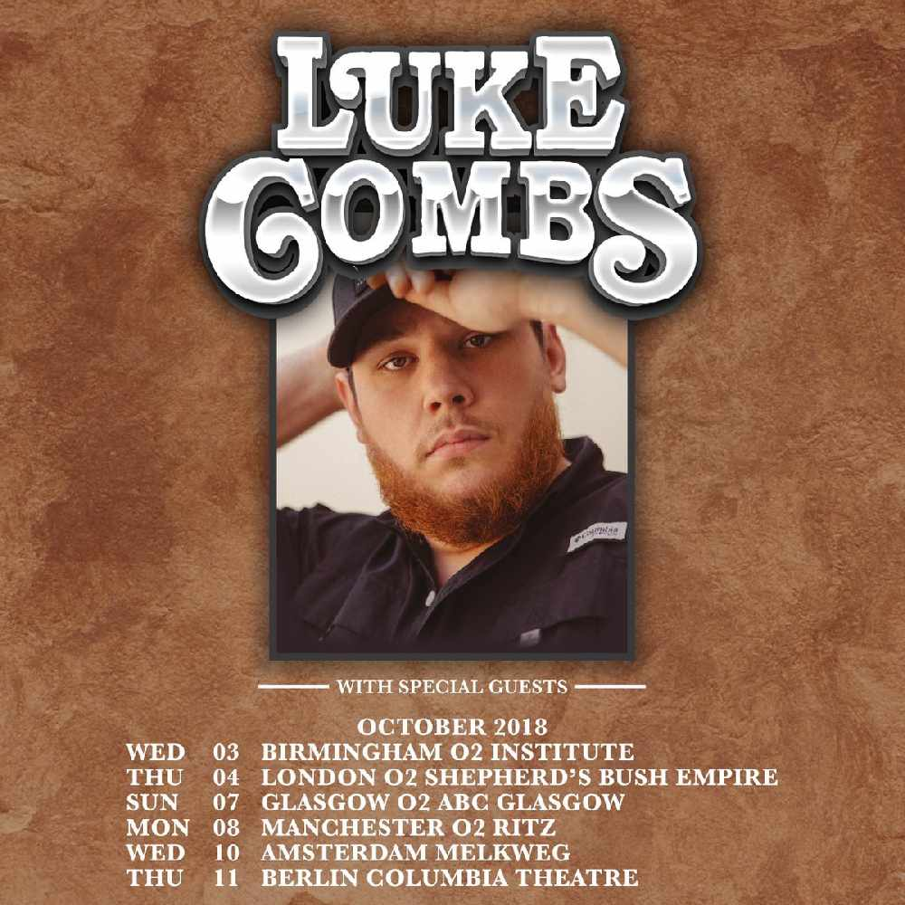 Luke Combs Tour 2020 Luke Combs announces UK tour   Chris Country