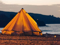 The Al Bustan Palace now lets you camp on the beach!