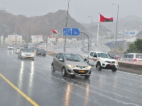 3 day rain forecast likely for Oman!