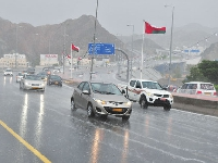 Believe it or not, it has been raining in Oman!