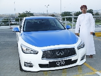 This month metered cabs hit Oman's roads!