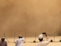 First rain, now sandstorms! Oman's weird weather week