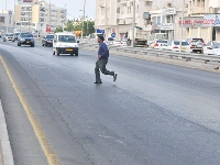 Jaywalking in Oman could land you in jail!