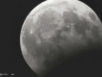 Your photos of the partial lunar eclipse