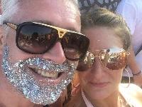 Glitter Beards!