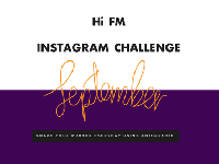 Hi FM INSTAGRAM CHALLENGE FOR SEPTEMBER