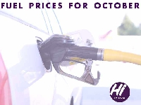 Fuel Prices for October.