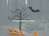 Halloween Parties here in Oman!
