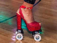 Roller skate Heels with Marawa Wamp