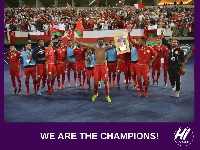 Oman are Gulf Cup Winners