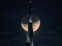 Sheikh Hamdan captured this amazing time-lapse of the Super Moon!