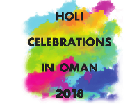 Where to celebrate Holi 2018 in Oman!