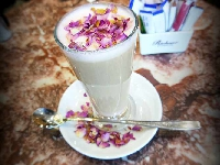 We've found the prettiest latte in Oman!