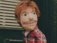 Ed Sheeran's puppet is taking over!