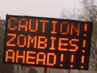People in Florida just got a zombie alert!
