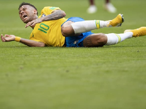 Twitter's savage response to Neymar Jr. at the World Cup