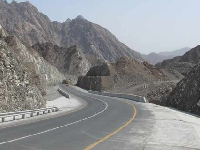 A new road opens in Oman