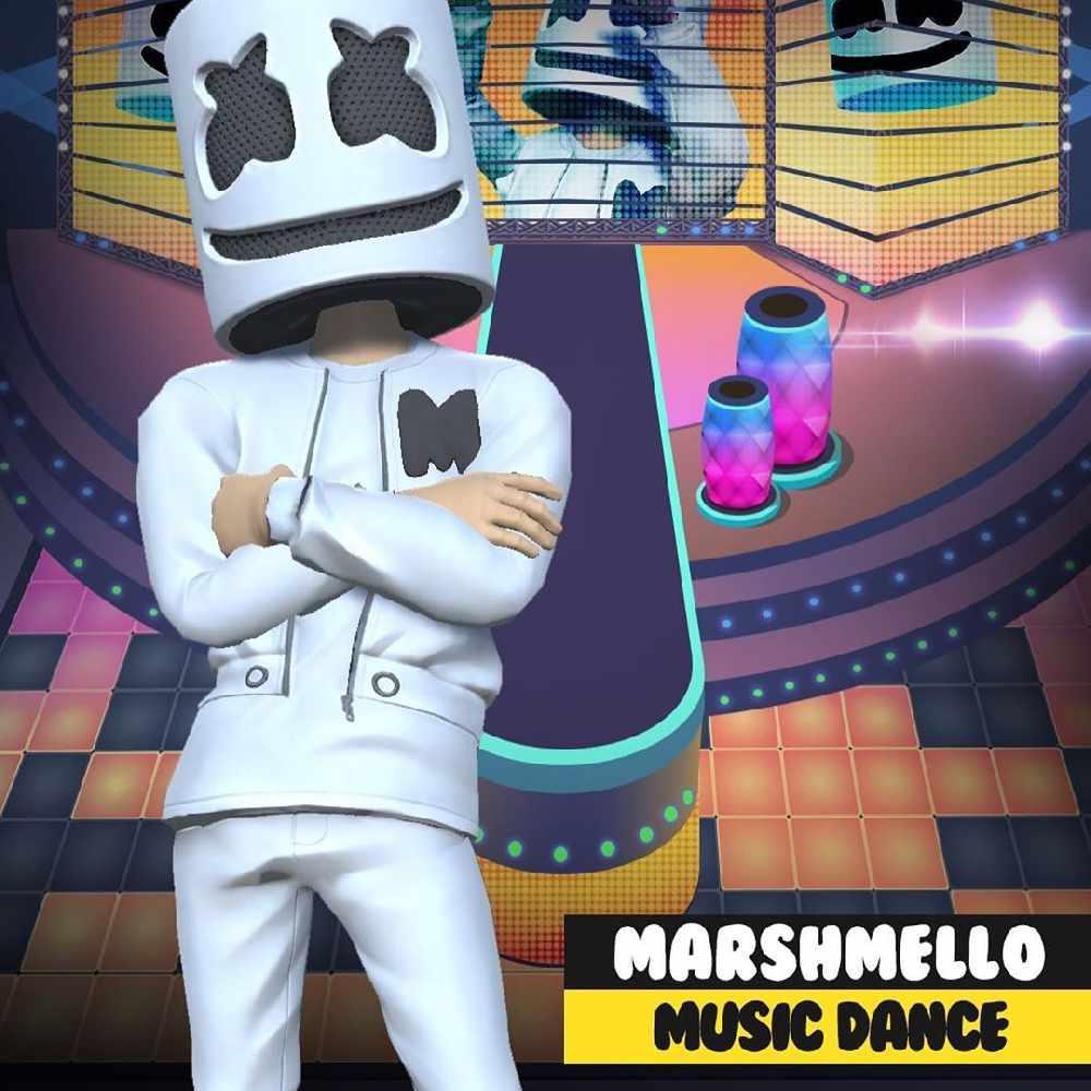 Download Marshmello's new mobile game    - Hi FM Radio, Oman