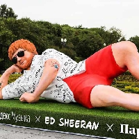 An Ed Sheeran statue appeared overnight!