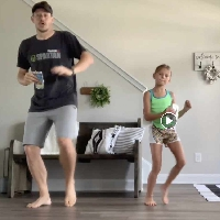 Daddy/Daughter Git Up Challenge!