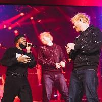 Ed Sheeran turned up on stage last night!