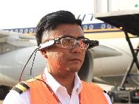 نظارات ذكية جديدة تقلل من فترة الانتظار في المطار