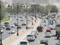 حوادث الطرق بالسلطنة تسجل انخفاضًا بنسبة 40.4%