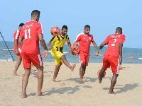 منتخبنا لكرة القدم الشاطئية يكثف تحضيراته لنهائيات كأس آسيا