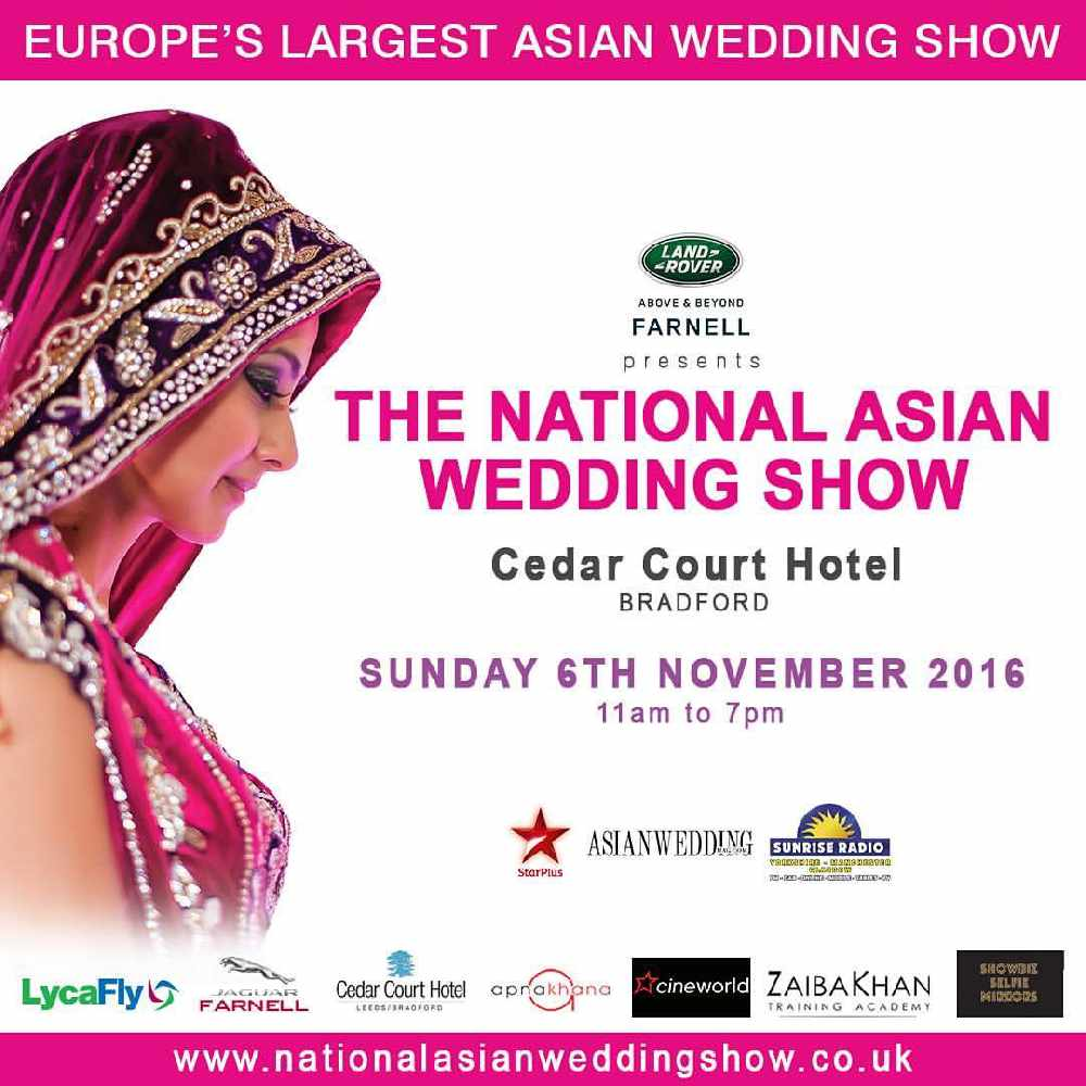 The National Asian Wedding Show Yorkshire 2017 Sunrise Radio Number One Hit Music Station