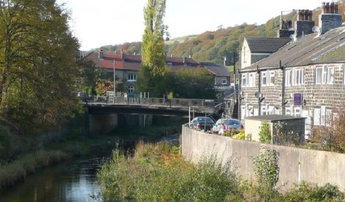 Mytholmroyd bridge to be moved 25m to reduce flood risk